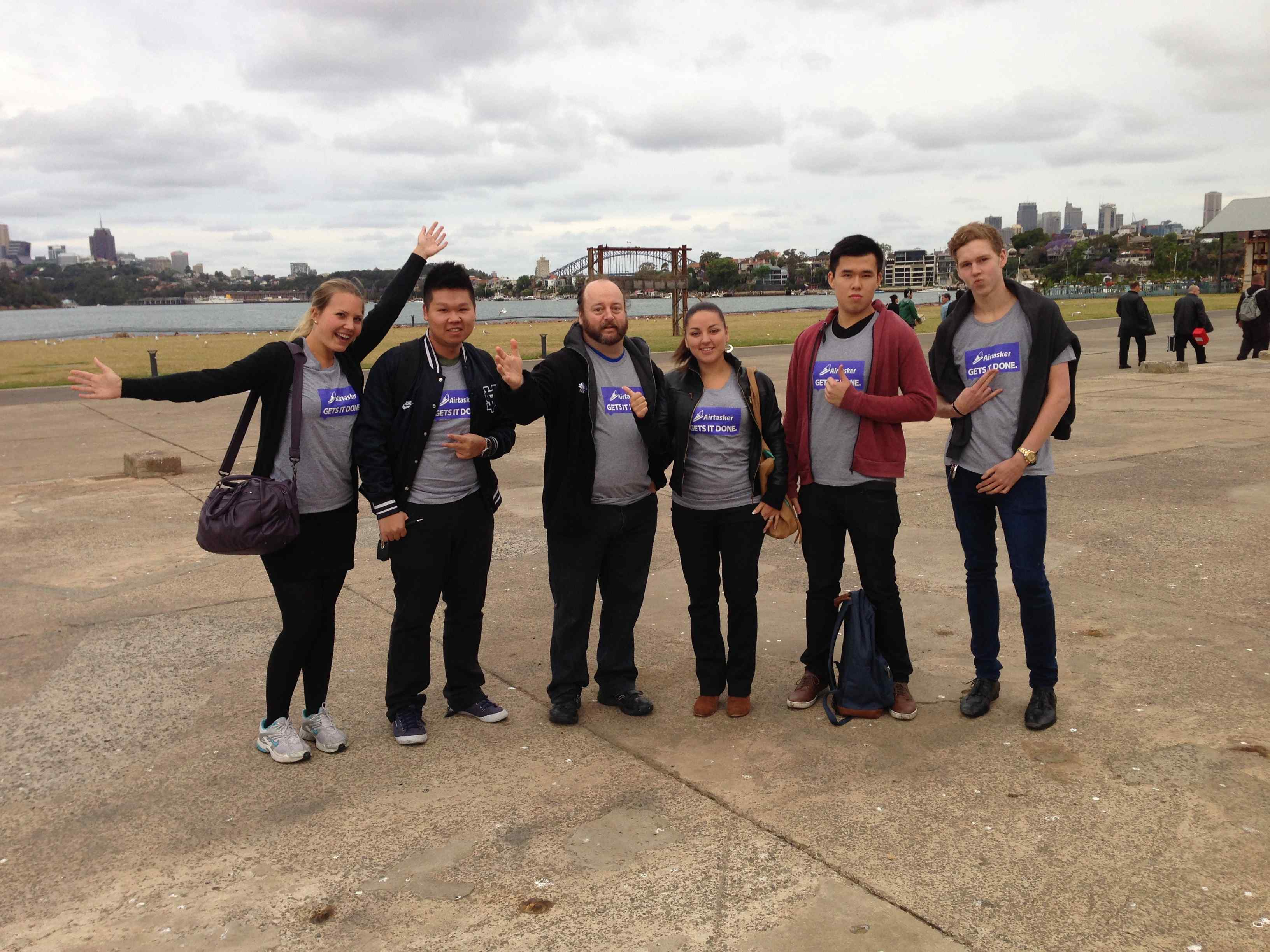 Airtasker runners help with Airbnb Sydney launch