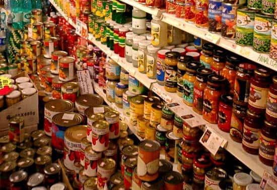 stockpile food