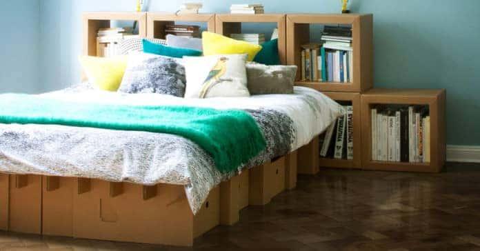 KARTON cardboard flat pack furniture