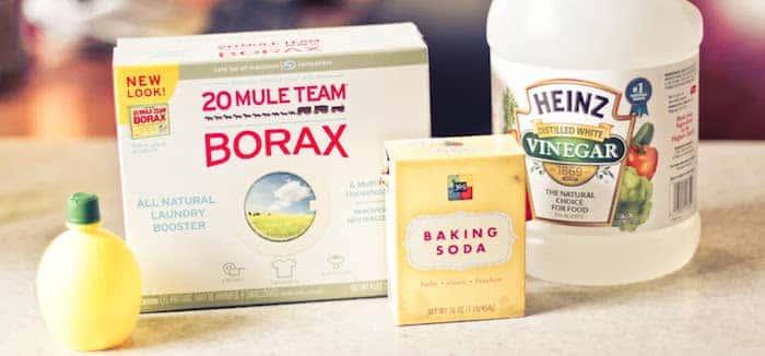 borax-vinegar-lemon-bakingsoda-cleaning