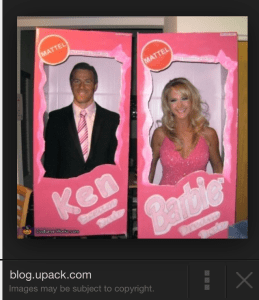 barbie and ken costume inspiration