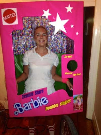 barbie tennis fancy dress costume done by Airtasker