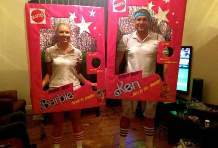 barbie and ken fancy dress costume done by Airtasker