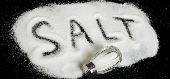 salt-pile