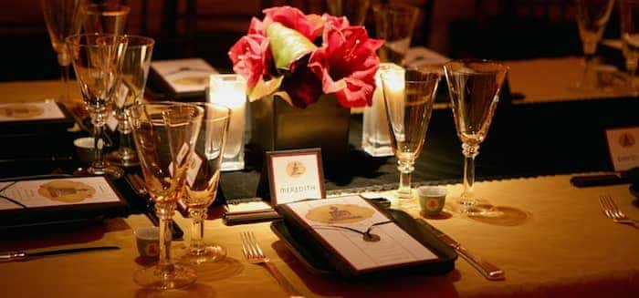 event planning checklist table