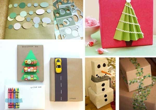 gift wrapping inspiration christmas