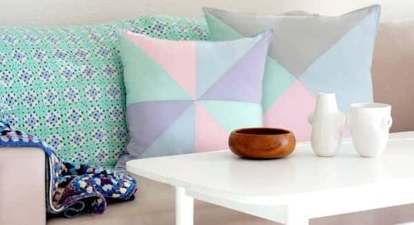 pastel living room colour trend