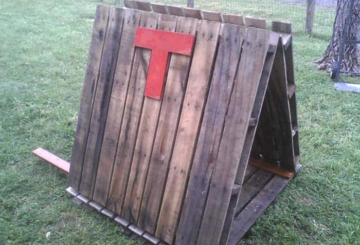 dog kennel pallet