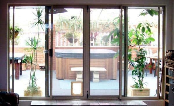 spring-screen doors