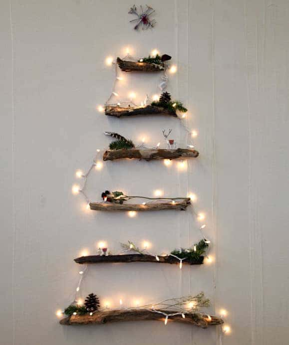 twig christmas tree