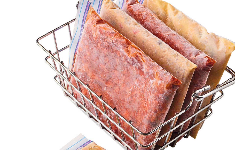 mince frozen flat in sandwich bags diy kitchen hacks and tips