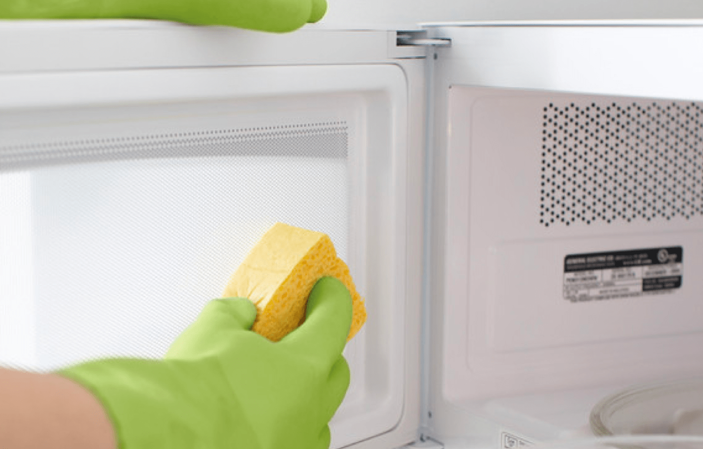 cleaning microwave DIY kitchen hacks and tips