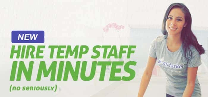 Hire temp staff in minutes