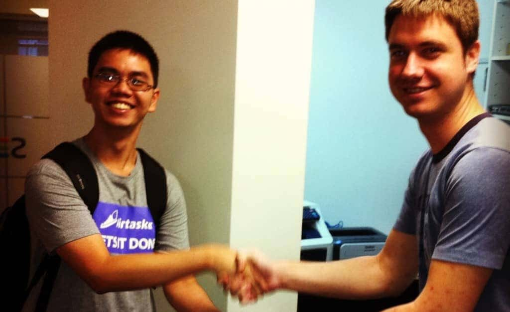 Community_handshake