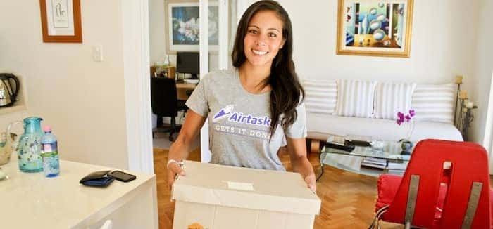 packing home items with Airtasker