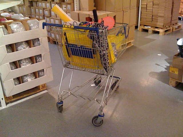 ikea shopping