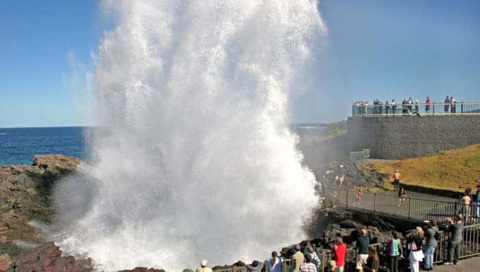 Kiama-Blowhole-holiday-itnerary
