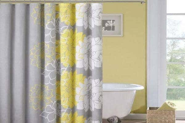 spring cleaning hacks shower curtain