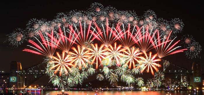 New Year's Eve Fireworks Locations: Sydney, Melbourne & Brisbane