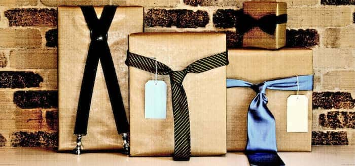 gift wrapping inspiration ties