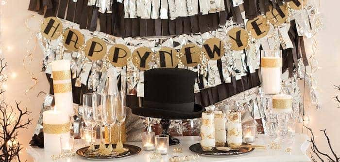 new years eve party decorations