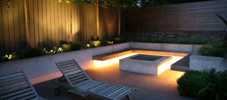 gardening light ideas - entertaining