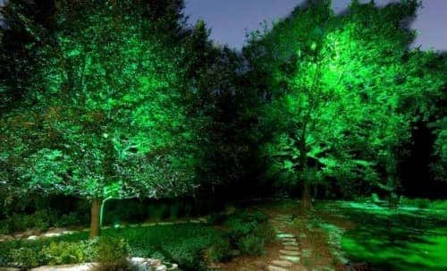 gardening light ideas - moonlighting