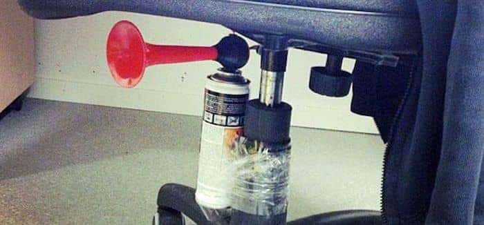 10 Hilarious April Fools Office Pranks