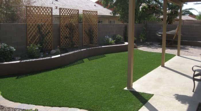 small garden - grass