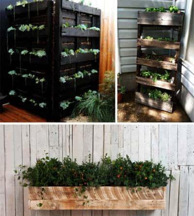 Pallet-plant-box