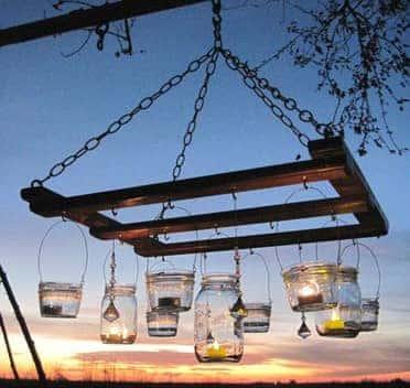 pallet-chandelier