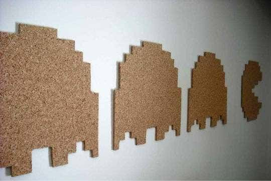 diy-pac-man-cork-board