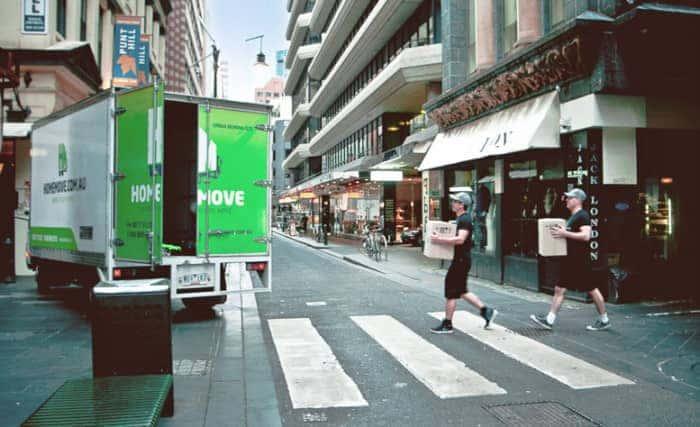 moving van image