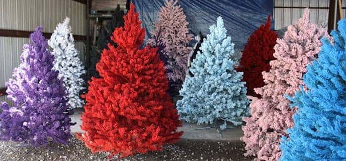 6 Non-Traditional Christmas Tree Ideas