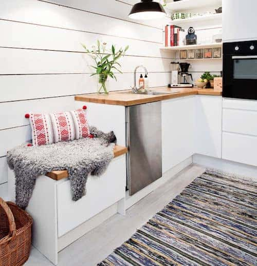 inbuilt kitchen bench small kitchen design