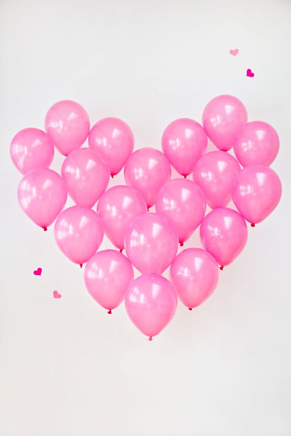 Balloon heart | Airtasker wedding DIY ideas