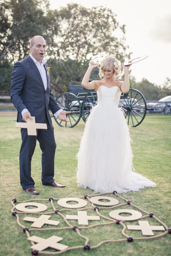 Outdoor games | Airtasker wedding DIY ideas