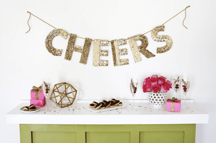 Cheers! | Airtasker wedding DIY ideas