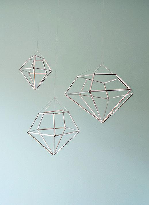 Diamond decorations | Airtasker wedding DIY ideas