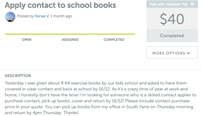 Apply Contact to school books