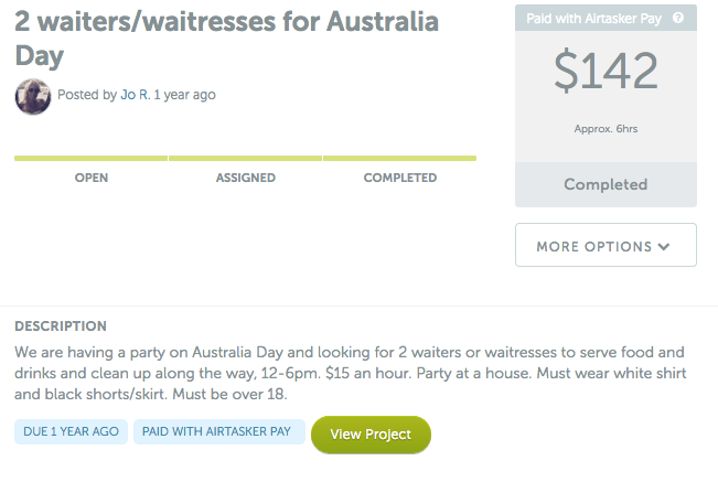 waitresses-for-australia-day