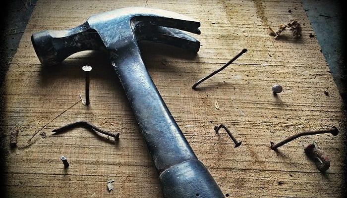 Carpenter tools of the trade
