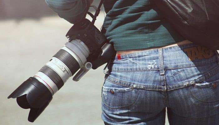 Casual photographer