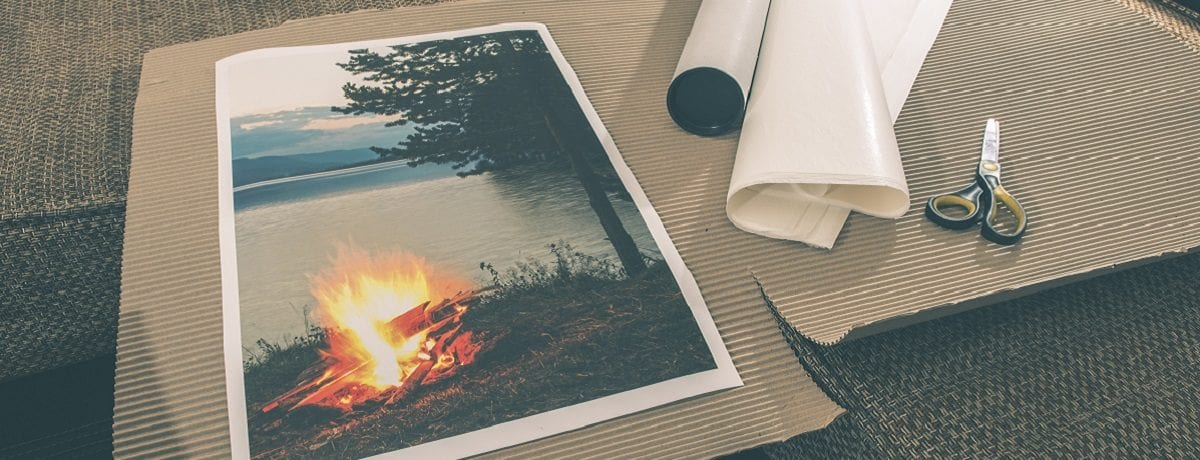 Getting photos printed onto canvas