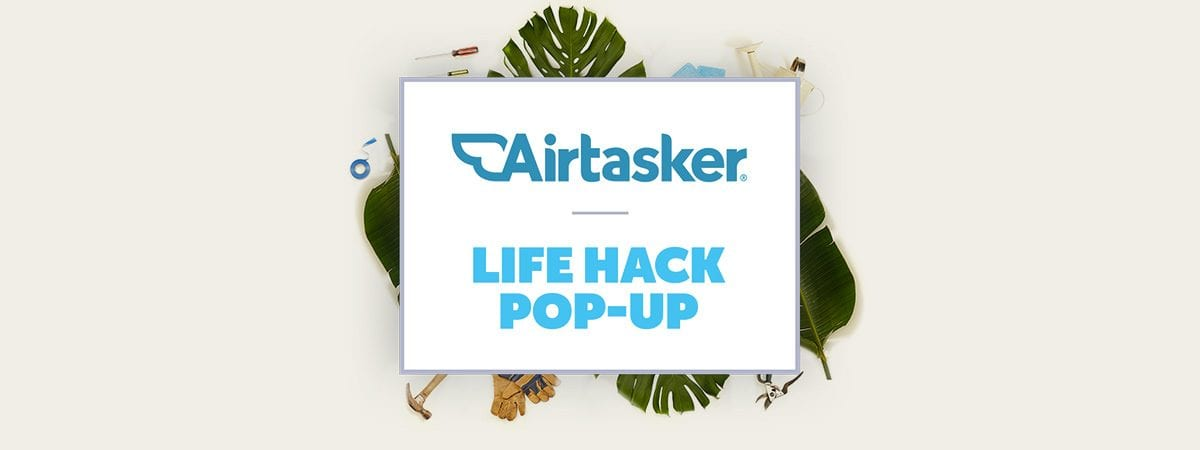 Get summer ready at the Airtasker Life Hack Pop-Up