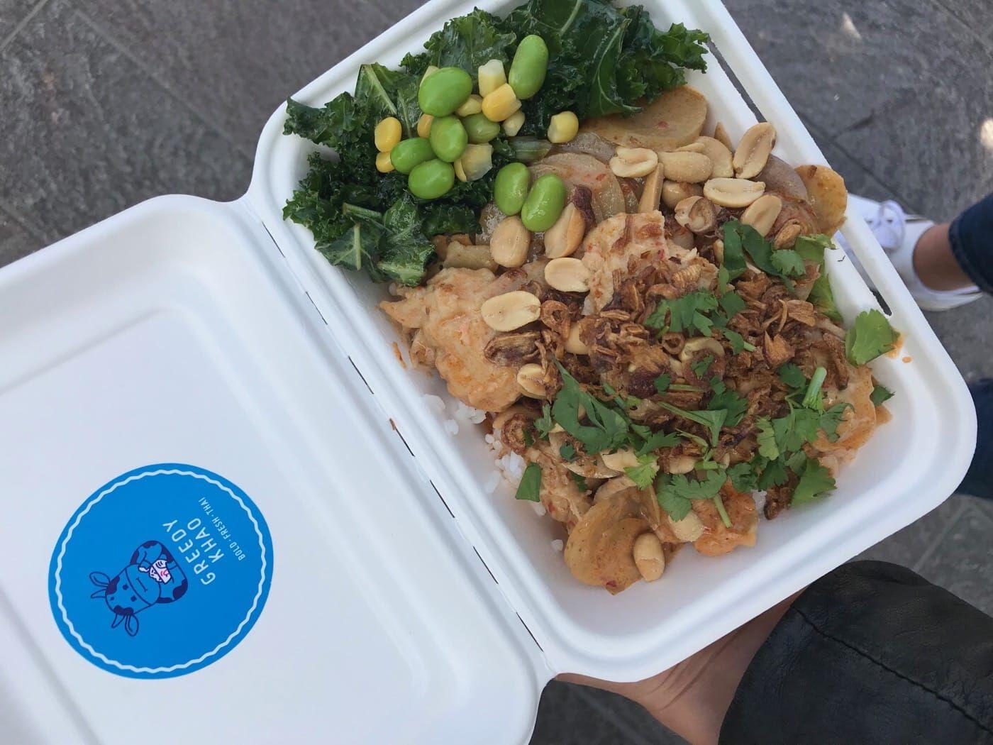 Greedy Khao Vegan Street Food