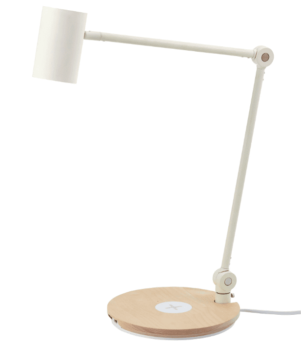 IKEA minimal Scandinavian style white lamp