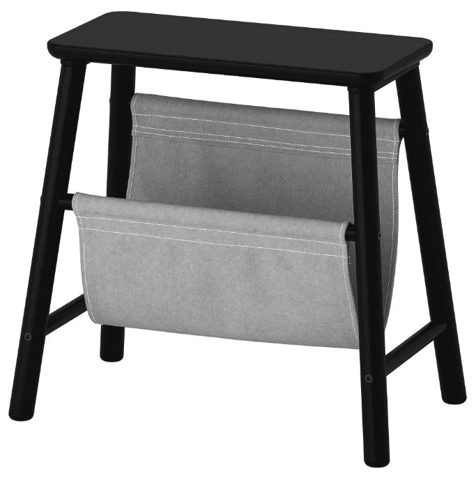 IKEA bedside storage stool