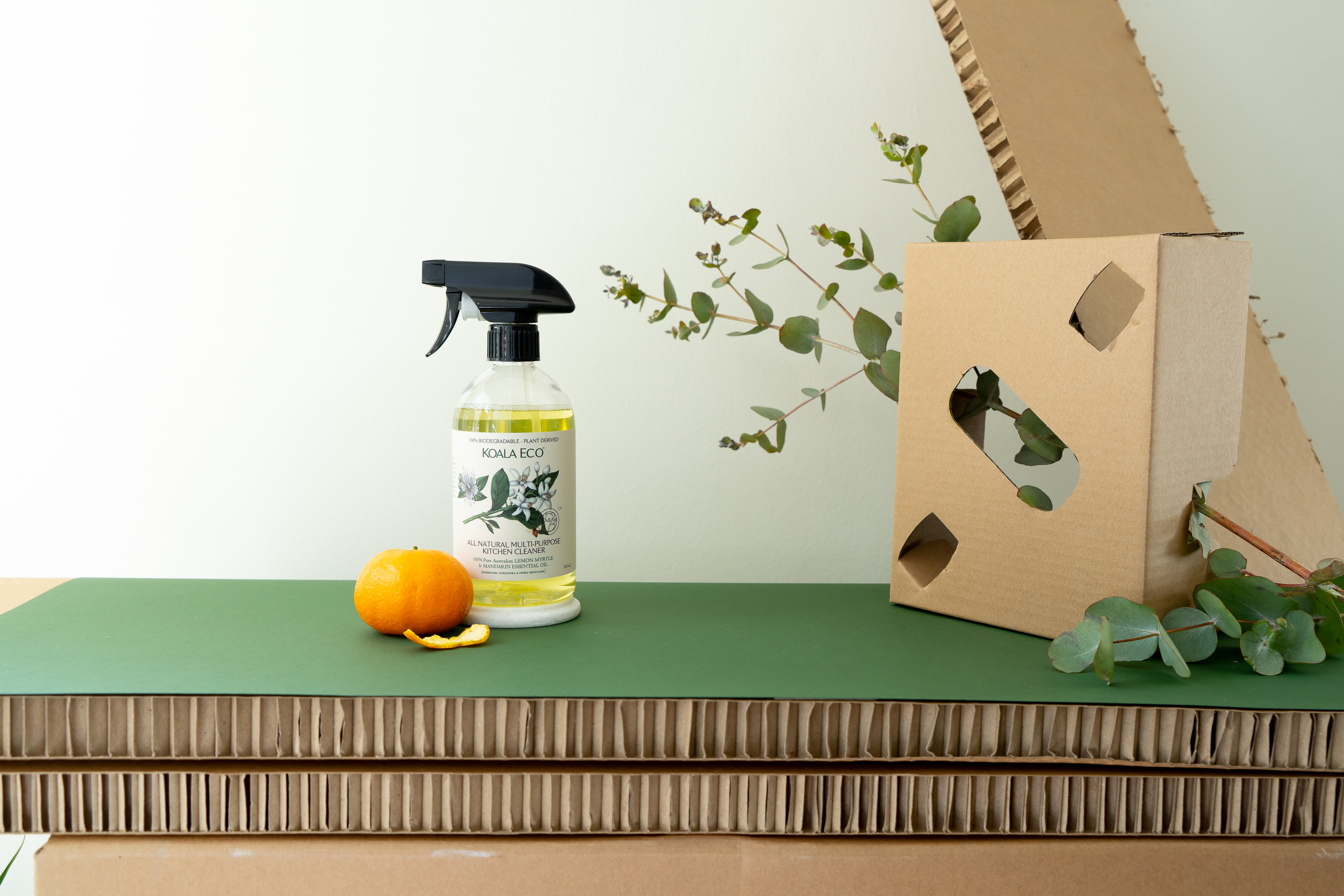 Koala Eco natural cleaning spray with mandarin