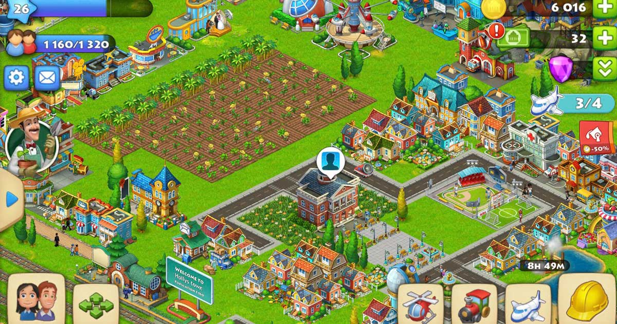 Farmville town arrangement